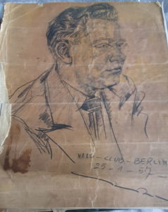 VE Day War Heroes: A Drawing of Norman Porter
